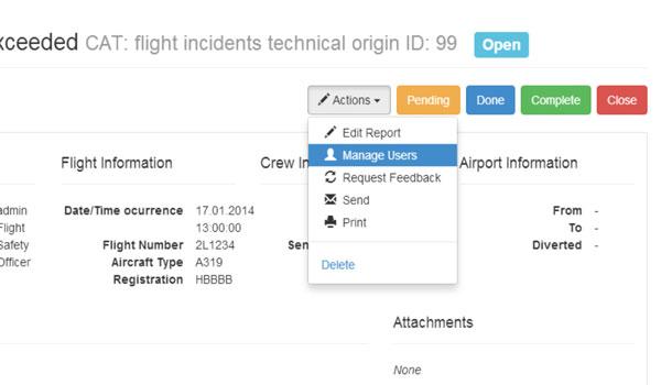 Screenshot Reporting Software AviSwiss
